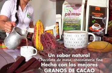 ¡ El mejor chocolate de mesa, elaborado con el mas rico cacao de Santa Rosa Sur de Bolívar!