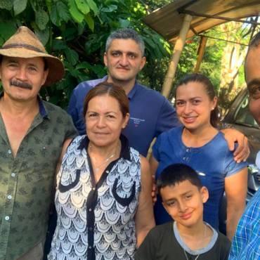Visita al ganador del Concurso Nacional Cacao de Oro 2017