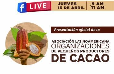 Facebook Live / La Asociación Latinoamericana de Organizaciones de Pequeños Productores de Cacao
